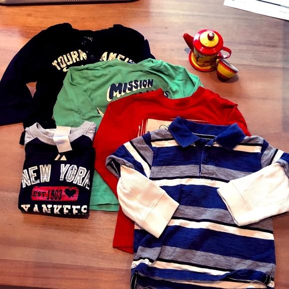 b8b2d307c naartjie Shirts & Tops | Bundle Of 5 Boys Long Sleeve Shirts 3t ...